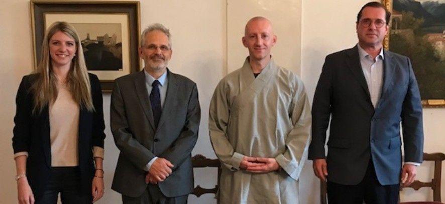 Un monaco Shaolin a Palazzo Marcacci