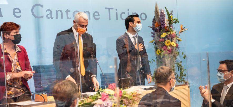 Il Municipale Nicola Pini nuovo Presidente del Gran Consiglio