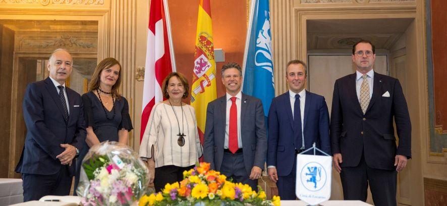Visita dell'Ambasciatrice di Spagna in Svizzera