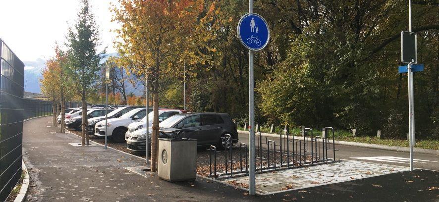 33 nuove piante, maggiore sicurezza e una migliorata postazione per il bike sharing: terminato il progetto di riqualifica PALoc 2 su Viale dell'Isolino e Via Lanca degli Stornazzi