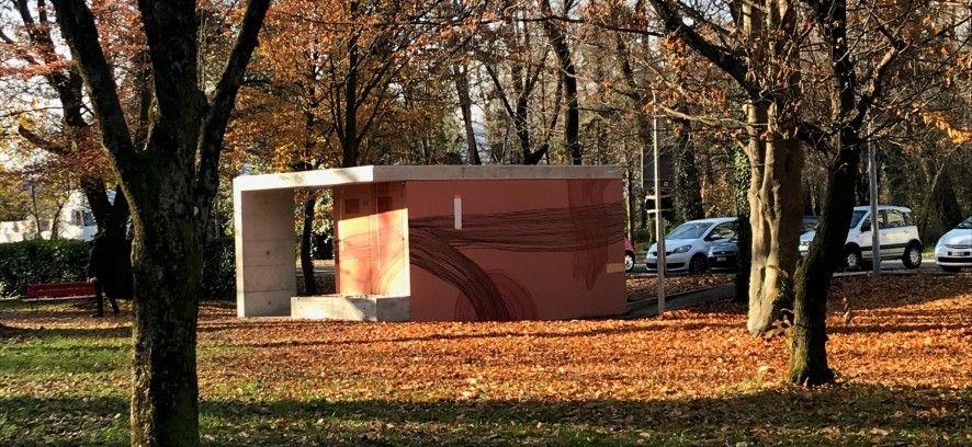 Nuovi bagni artistici al Parco della Pace