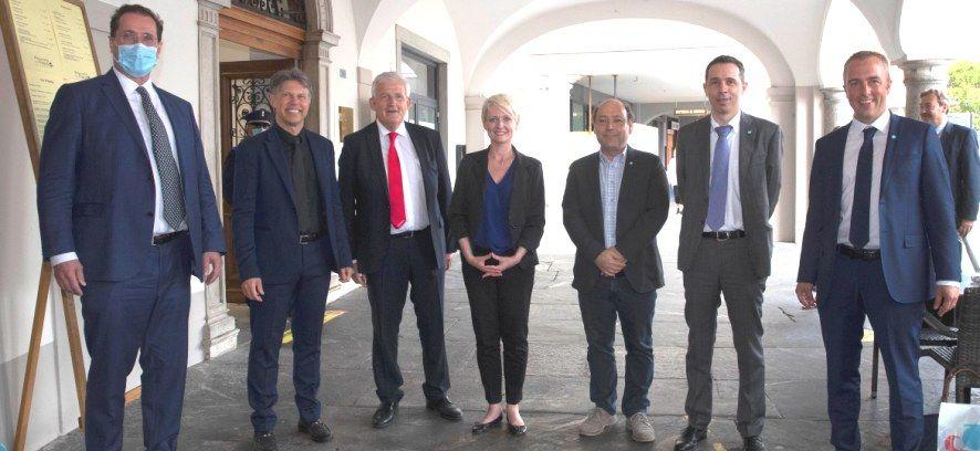 I Presidenti del Consiglio Nazionale e del Consiglio degli Stati a Locarno