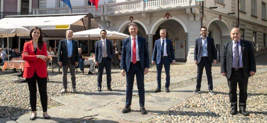 Al via la legislatura per il nuovo Municipio di Locarno