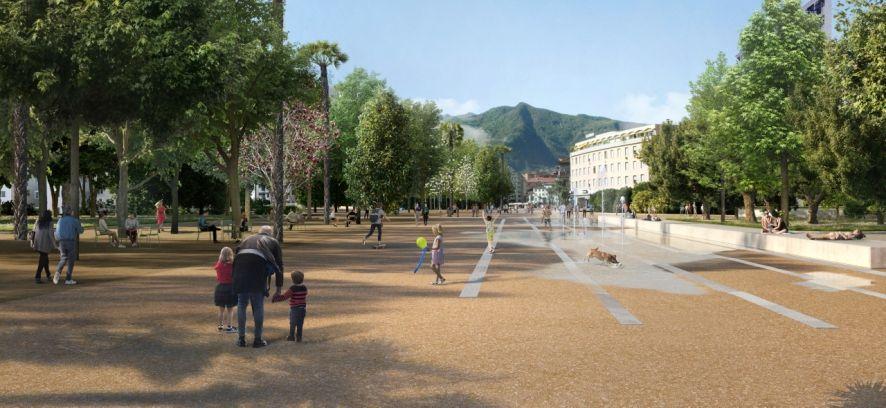 """Una """"Nouvelle belle époque"""" per Piazza Grande e Largo Zorzi"""