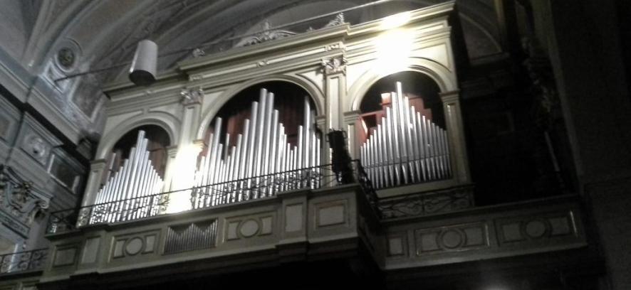 Collegiata di S. Antonio: inaugurazione dell'organo restaurato